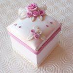 Scatolina cubo con coperchio – Paper cube box with cover