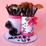 Porta pennelli per make up – Make up brushes holder
