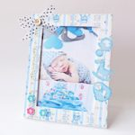 Decorazione quadretto Bimbo – Baby Boy photo frame decoration