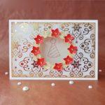 Biglietto Natalizio con Ghirlanda – Christmas wearth Card