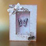 Quadretto con farfalle Natalizio – Christmas Butterfly Frame