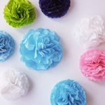 Mini Pompon di carta velina – Tissue paper Mini pompons