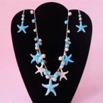 Parure stile marino – Necklace & earrings set marine style