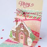 Biglietto Pop-up Casa di Pandizenzero – Gingerbread House Pup-up Card