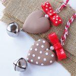 Ornamenti Cuore Shabby – Christmas Shabby Ornaments