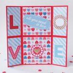 Biglietto Infinito di s. Valentino – Valentine's Infinite Card DIY