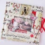 Album in Stoffa San Valentino – Valentine's Fabric Album