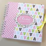 Album foto Bimba classico – Classic Baby girl Photo Album