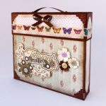 Scatola Valigia porta Album – Suitcase box Album holder DIY