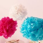 Pompon di carta velina per feste – Diy party set-up pompons (collab. Dalani)