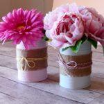 Riciclo barattoli di Latta – DIY recycled tins