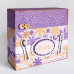 Scatola ricettario con schede – Recipes Box with cards