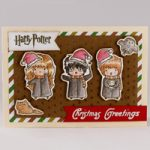 Biglietto d'auguri natalizio Harry Potter – Harry Potter greetings card