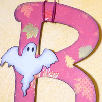 Halloween: decorazione da parete Boo! – Boo! wall decoration