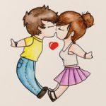 Disegno Coppia innamorata – Speedpaint Love couple