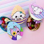 Scatole Uova di Pasqua in cartoncino kawaii – DIY Eggs paper boxes
