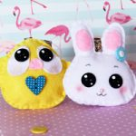 Portachiavi in Feltro di Pasqua – Easter Felt Key holder