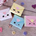 Buste porta mini Post-it – Envelope Post-it holder Kawaii DIY