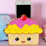 Porta telefono Cupcake – Cupcake Cell phone Holder DIY