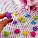 Stelle di carta della Fortuna – Lucky Paper Stars