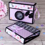Mini album Macchina Fotografica- Mini Album Camera Box