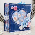 Album con copertine in Jeans- Denim Mini Album DIY