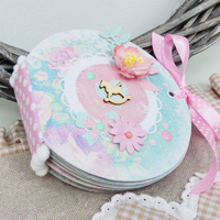 Album Rotondo – Round Mini Album DIY