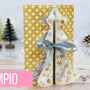 FILE da taglio card Albero di Natale 3D
