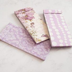 Notebooks da Borsetta pacco da 3 Pezzi - Viola