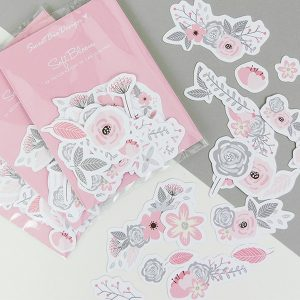 CARTONCINI decorativi - Soft Bloom 32 pz