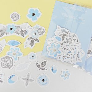 CARTONCINI decorativi - Soft Bloom Blue 31 pz