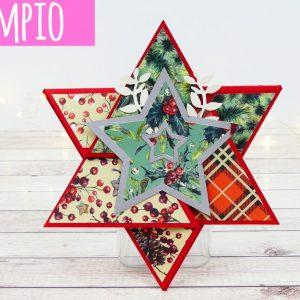 FILE da taglio STAR Triangle Card