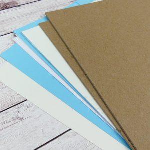 KIT con cartoncini e copertine 12 pz Vers.1