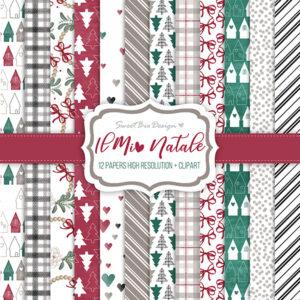 Set di carte Stampate IL MIO NATALE + Cartoline
