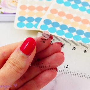 Planner Dots - adesivi su carta lucida 2pz