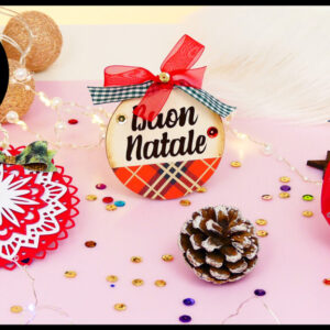 Sweet Kit Natalizio - 3 Decorazioni da comporre